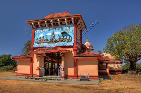 Chandreshwar Bhootnath temple front view